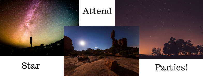 Attend Star Parties!